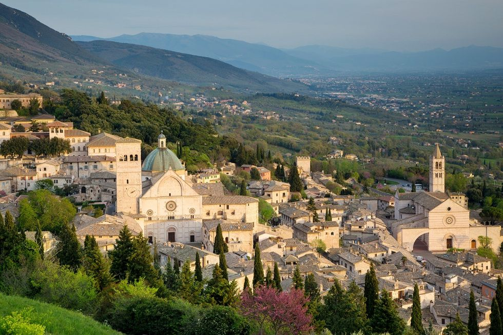Welcome to Calendimaggio, Assisi's Spring Festival