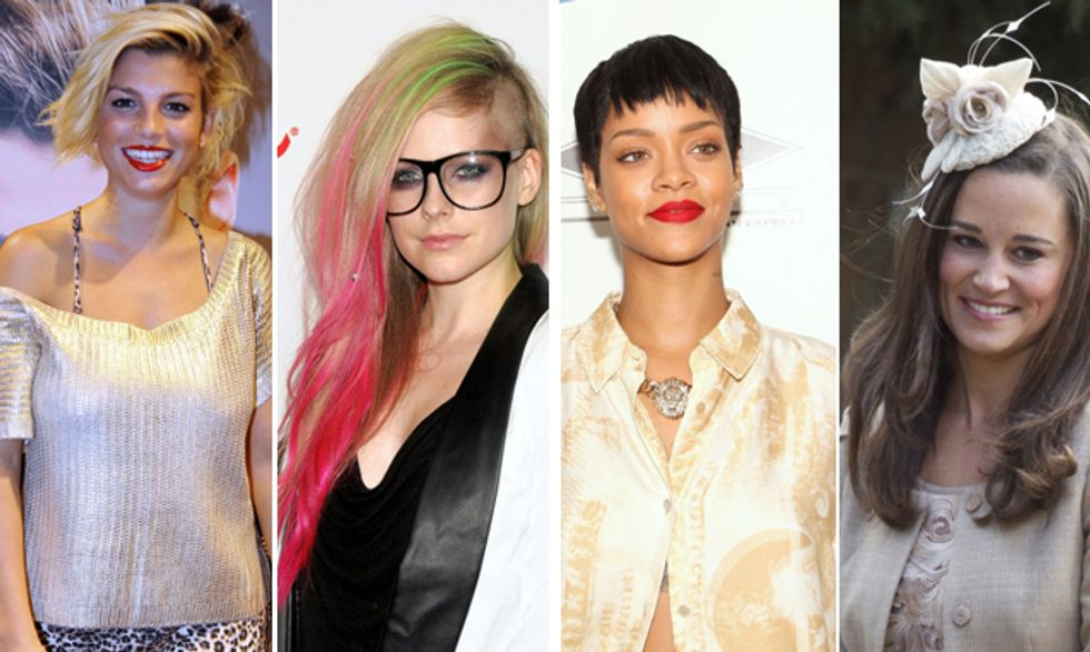 Emma innamorata, Avril Lavigne incinta, Tra Chris e Rihanna è amore e Pippa Middleton cerca casa