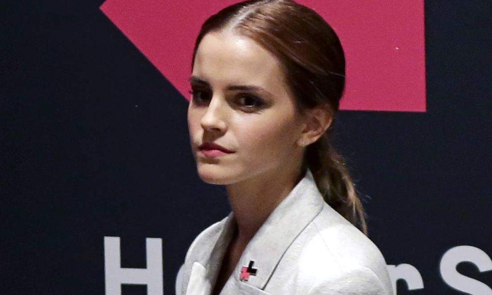 Emma Watson al Palazzo di vetro