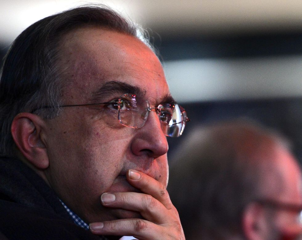 Fiat Chrysler Ceo Sergio Marchionne announces his vision for the future
