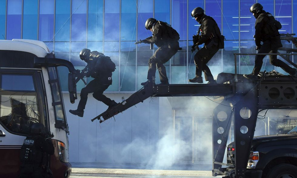 Esercitazione antiterroristica