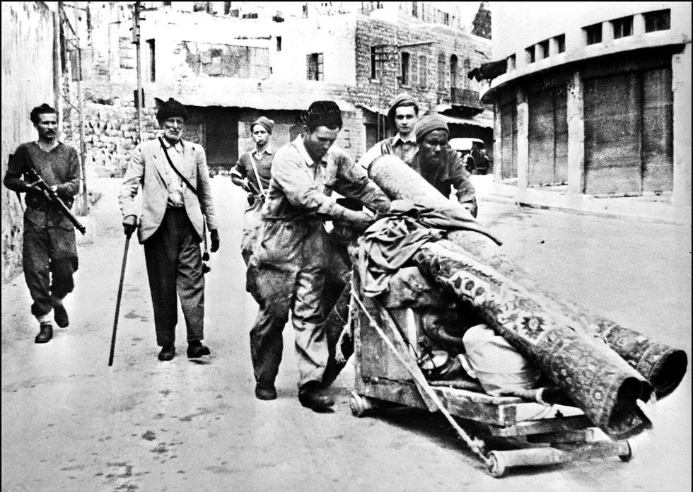 esodo palestinese
