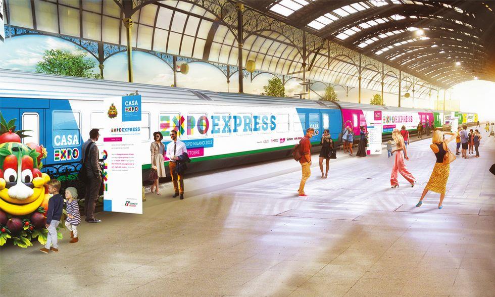 ExpoExpress: un treno carico di iniziative