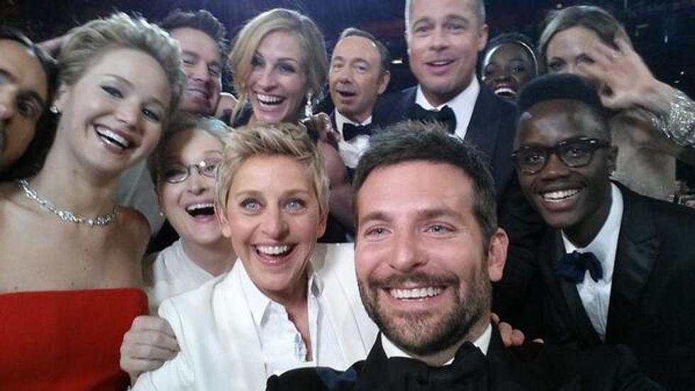 Selfie da Oscar, il più bello di tutti i tempi