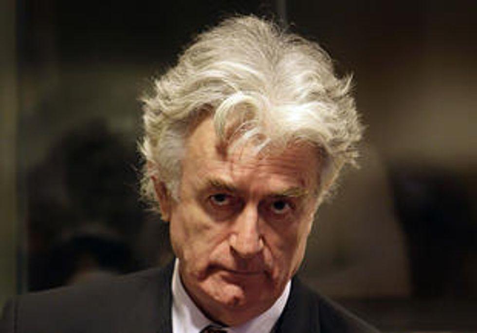 Karadzic condannato a 40 anni per genocidio