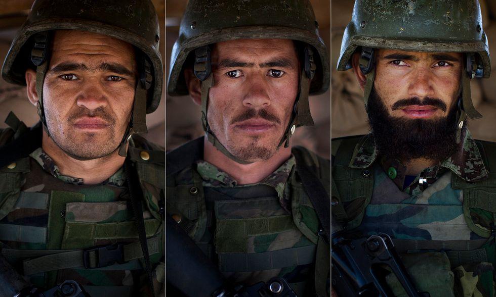 Un giorno tra i soldati dell'Esercito nazionale afghano