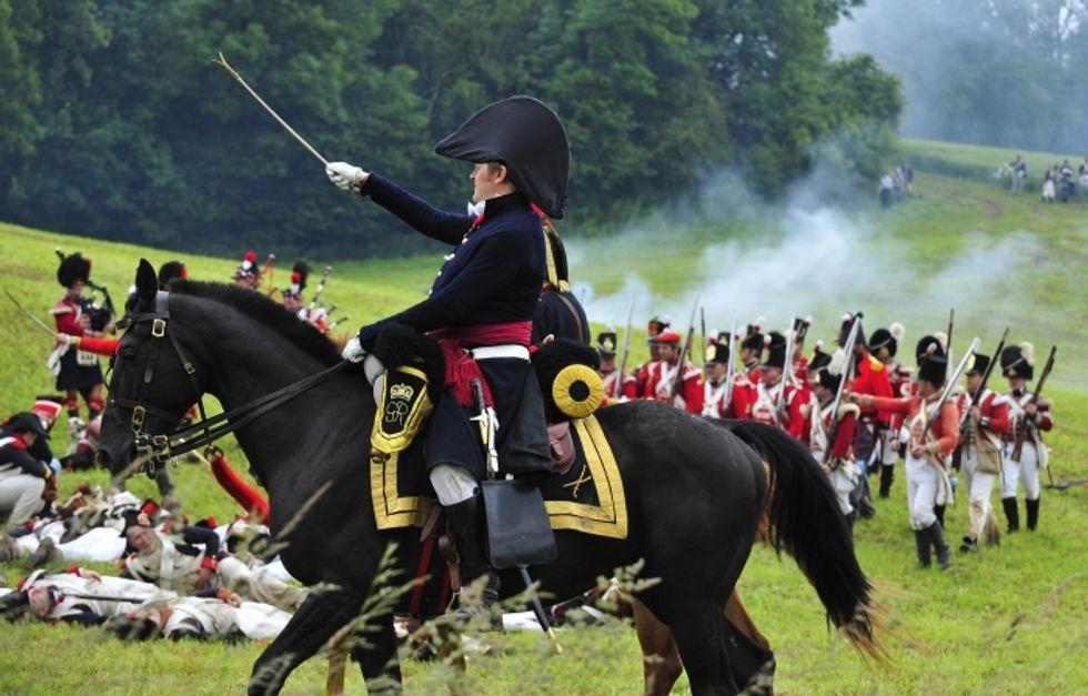 Napoleone a Waterloo: ritorno sulla collina della disfatta