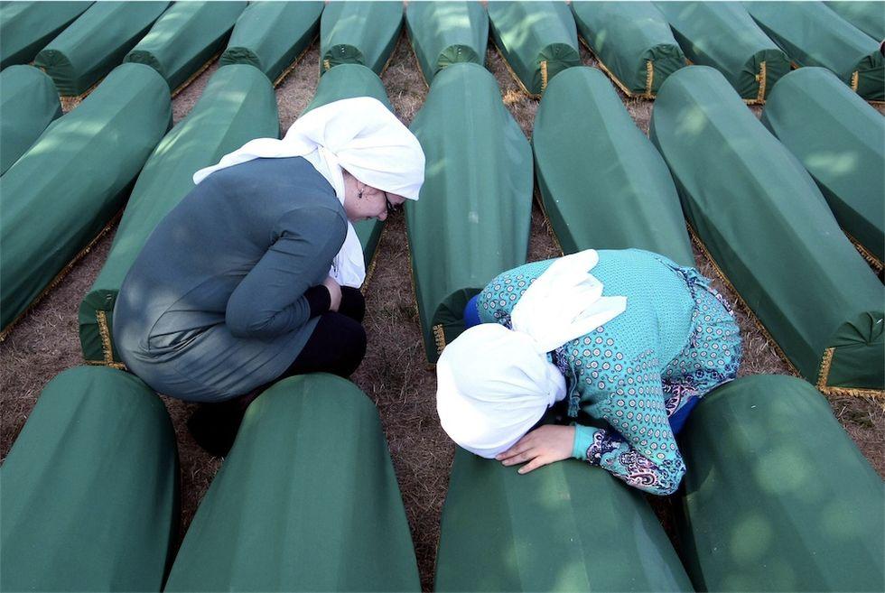 Le bare verdi di Srebrenica