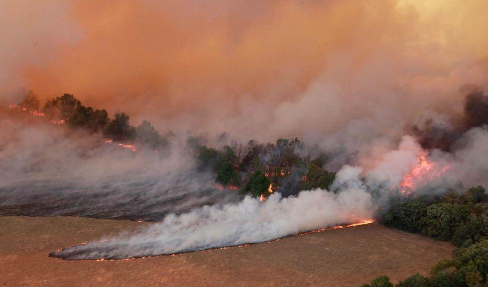 Oklahoma: è emergenza incendi
