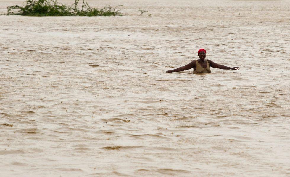 La tempesta tropicale Isaac su Haiti