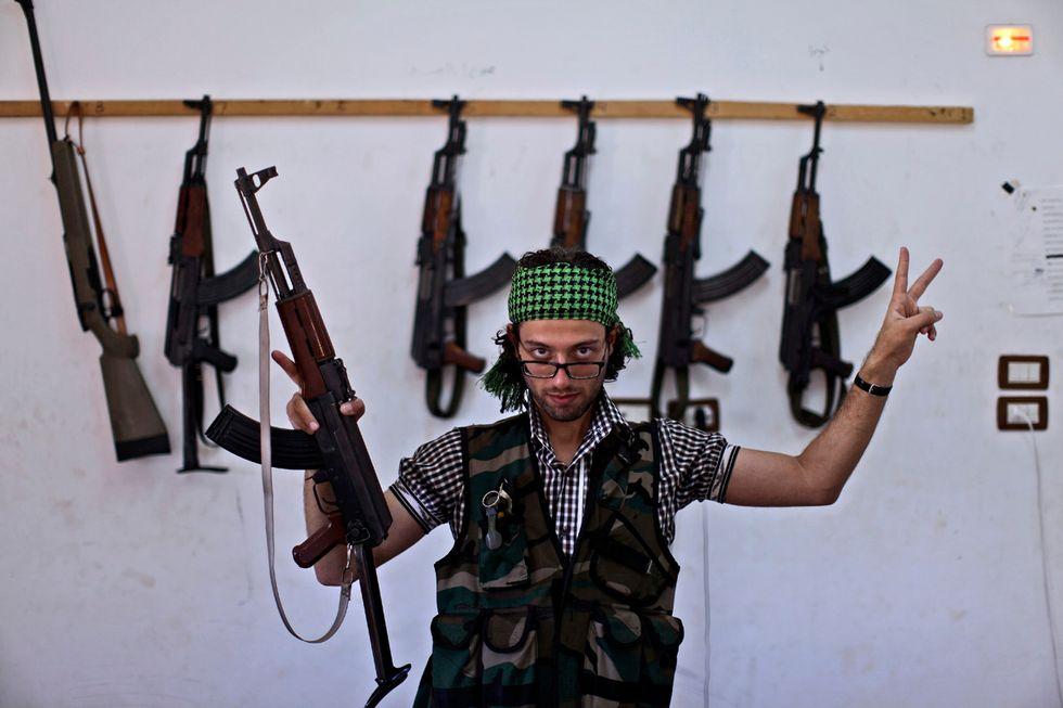 I ribelli siriani di Aleppo