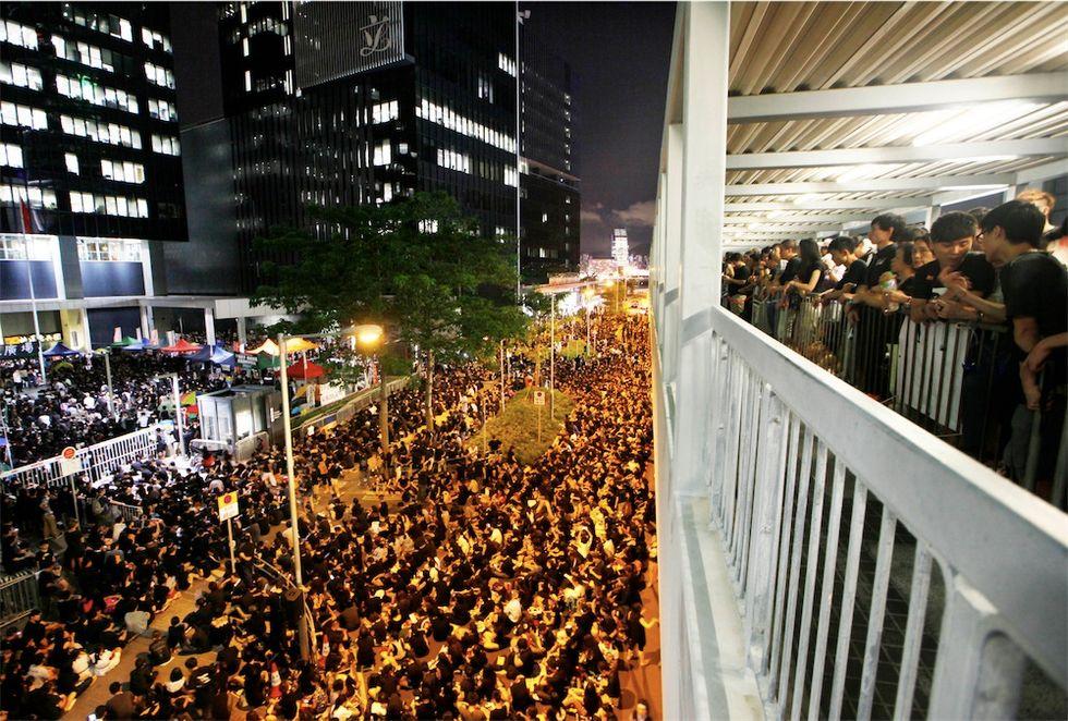 Gli studenti di Hong Kong e altre foto dal mondo