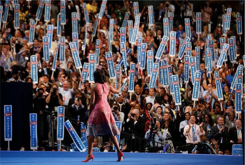 I fan di Michelle Obama e altre foto di gruppo