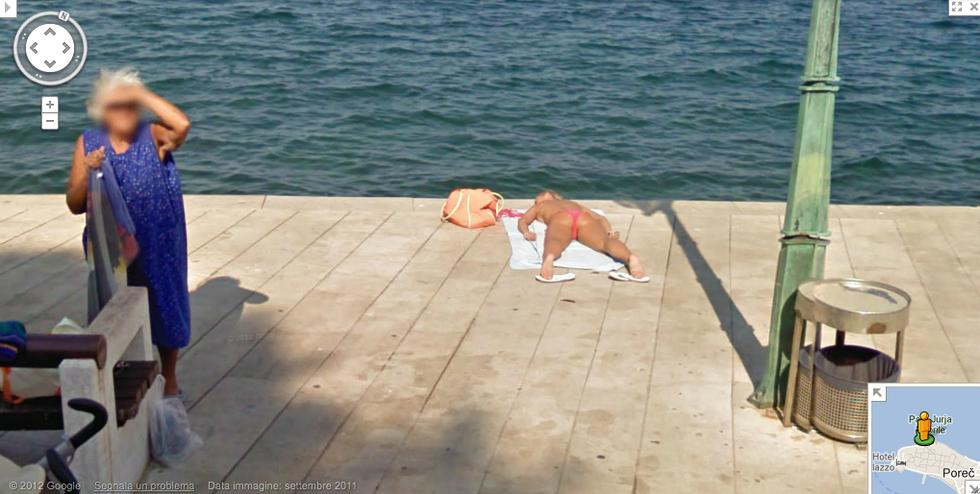 Foto: c'è vita su Google Maps