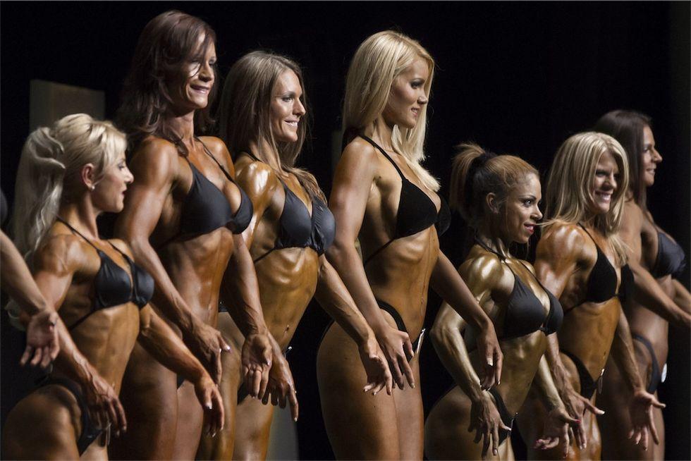 Foto: donne coi muscoli