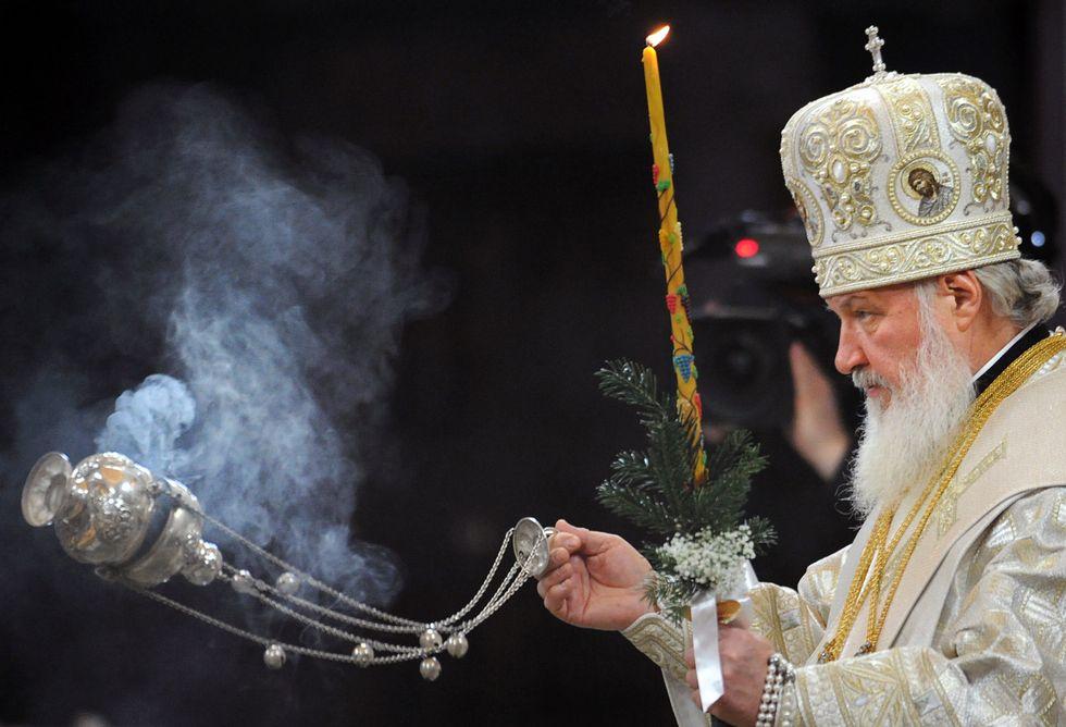 Il patriarca russo Kirill e le dichiarazioni shock sui matrimoni gay