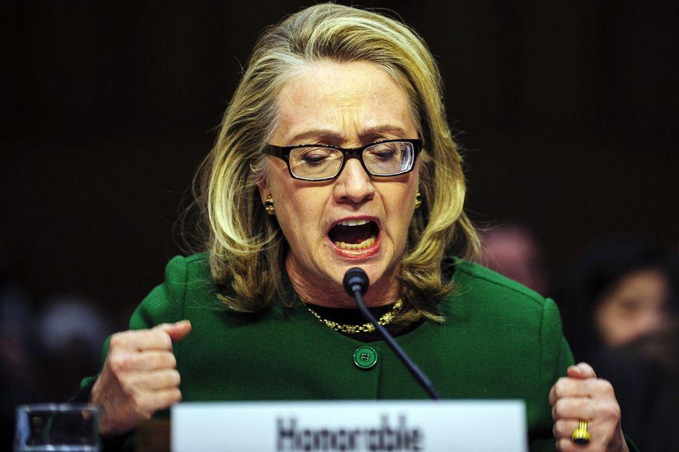 Hillary Clinton sull'attacco a Bengasi: ultimo atto appassionato in 15 foto