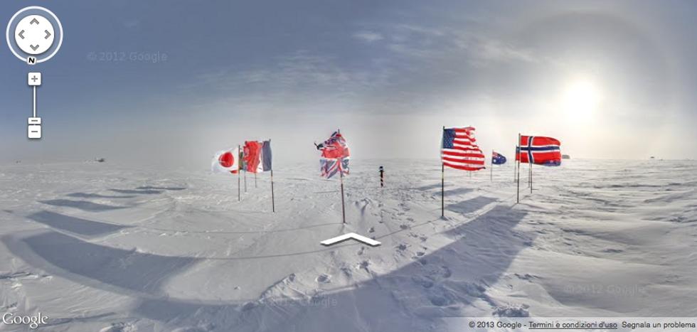 Google Street View: tutti sulla neve