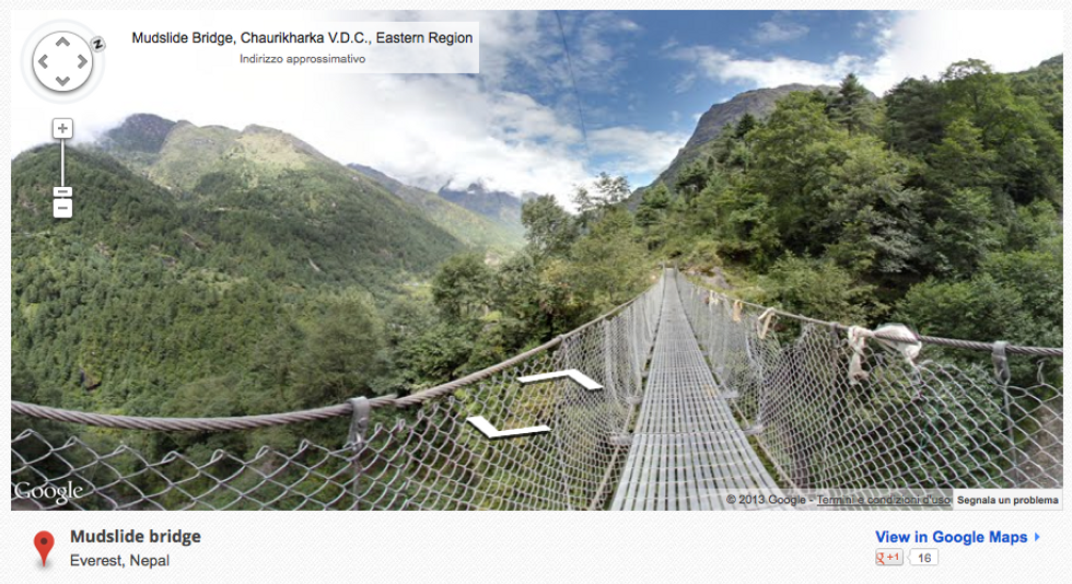 Google Street View sull'Everest e il Kilimangiaro