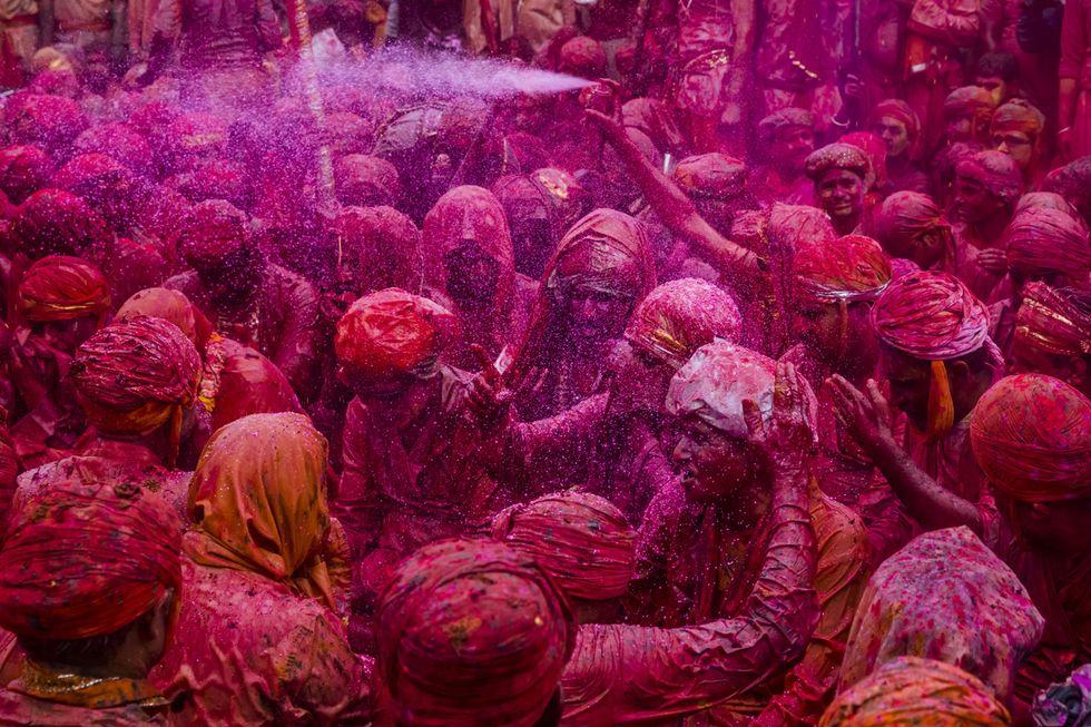 Holi, la festa dei colori e della primavera