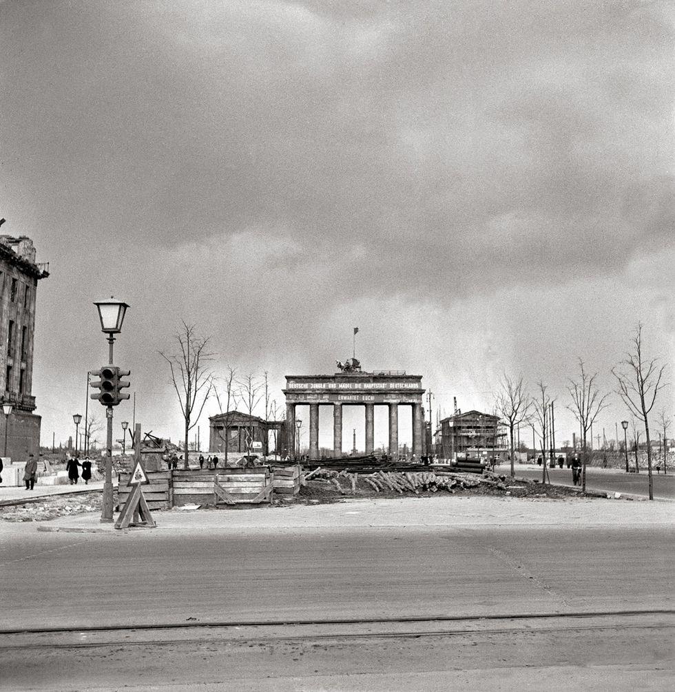 Berlino distrutta, 1950: le foto ritrovate di Ernst Hahn