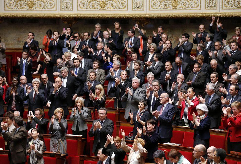 Il sì alle nozze gay in Francia e altre foto del giorno, 23.4.2013
