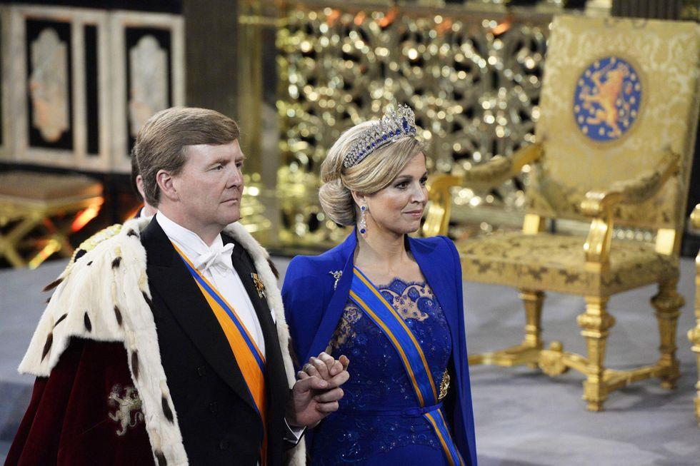 Il nuovo re dei Paesi Bassi e altre foto del giorno, 30.4.2013