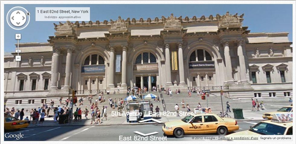 I 7 continenti di Google Street view