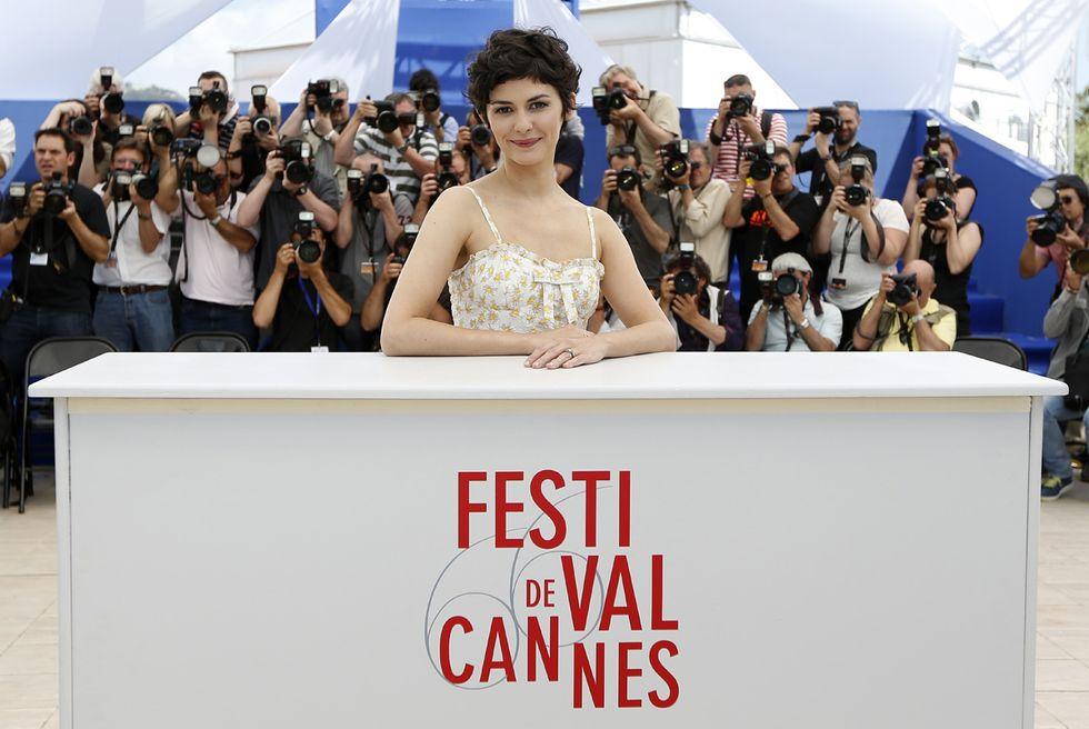 Audrey Tautou madrina a Cannes e altre foto del giorno, 14.5.2013