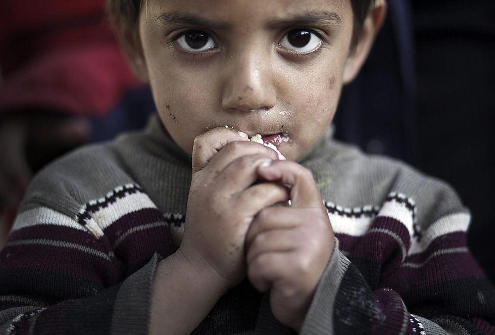 Striscia di Gaza: i bambini di Beit Lahia