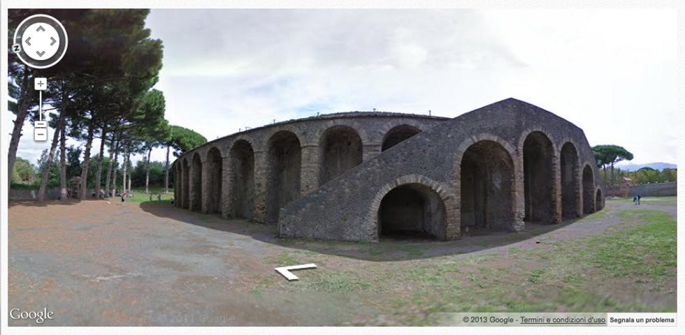 Google Street View: alla scoperta di Pompei