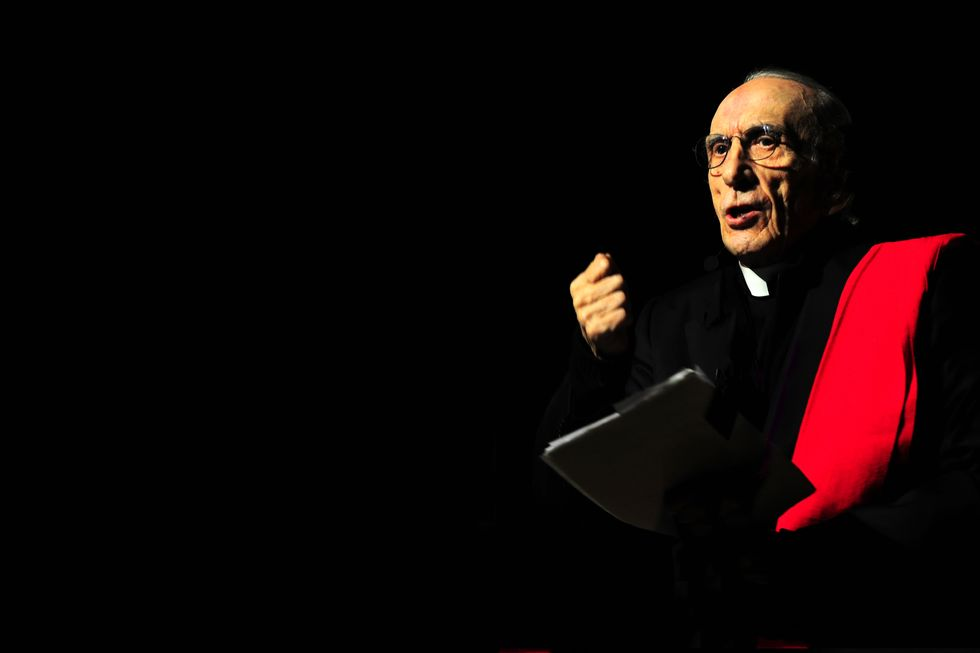 Don Gallo, il prete degli ultimi in sei splendide foto di Giorgio Lotti