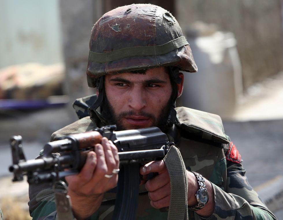 Guerra in Siria: scene dalla battaglia di Qusayr