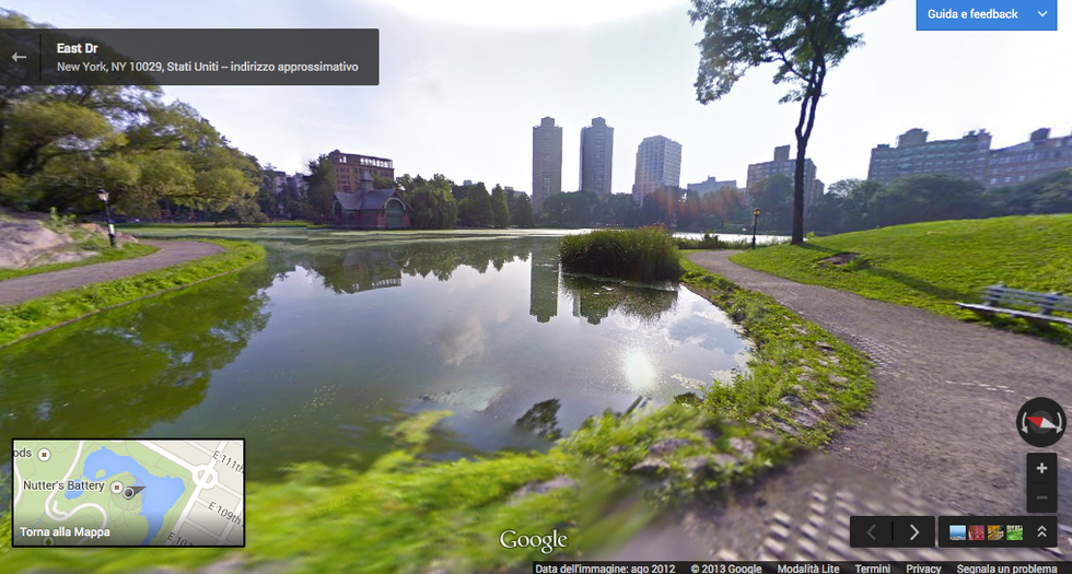 Google Street View: New York