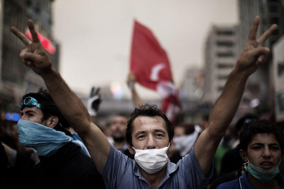 Turchia, le foto più belle della protesta