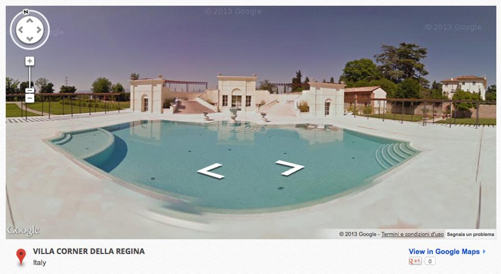 Google Street View: le ville venete