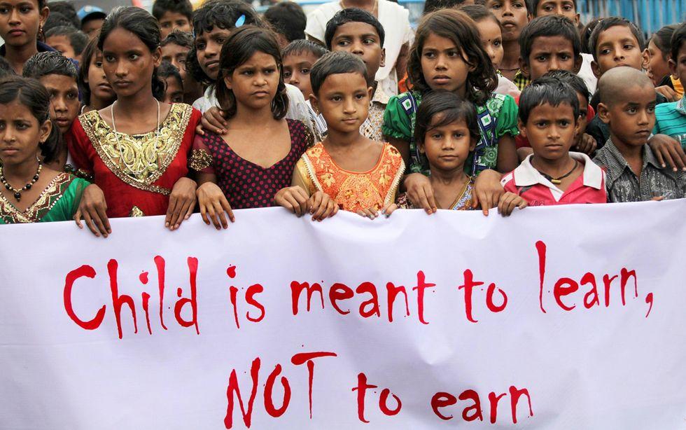 La Giornata mondiale contro il lavoro minorile, 12.6.13