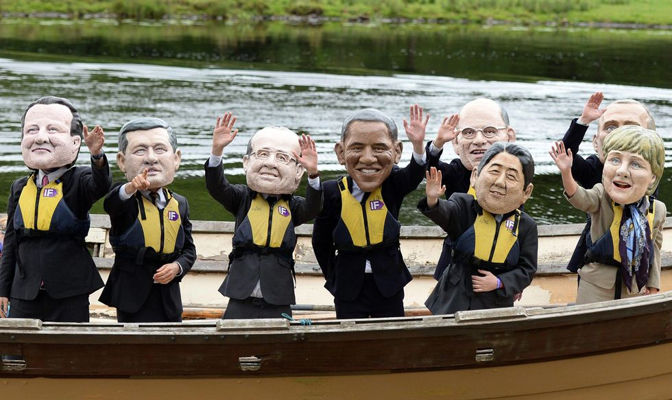 Proteste contro il G8 e altre foto del giorno, 17.6.13