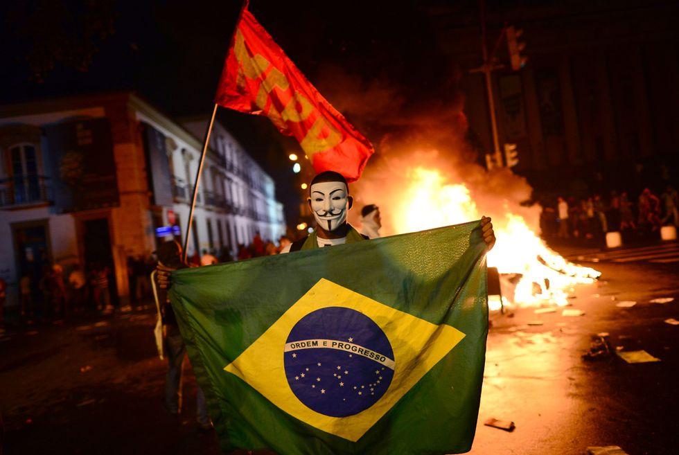 Brasile, le foto più belle della protesta