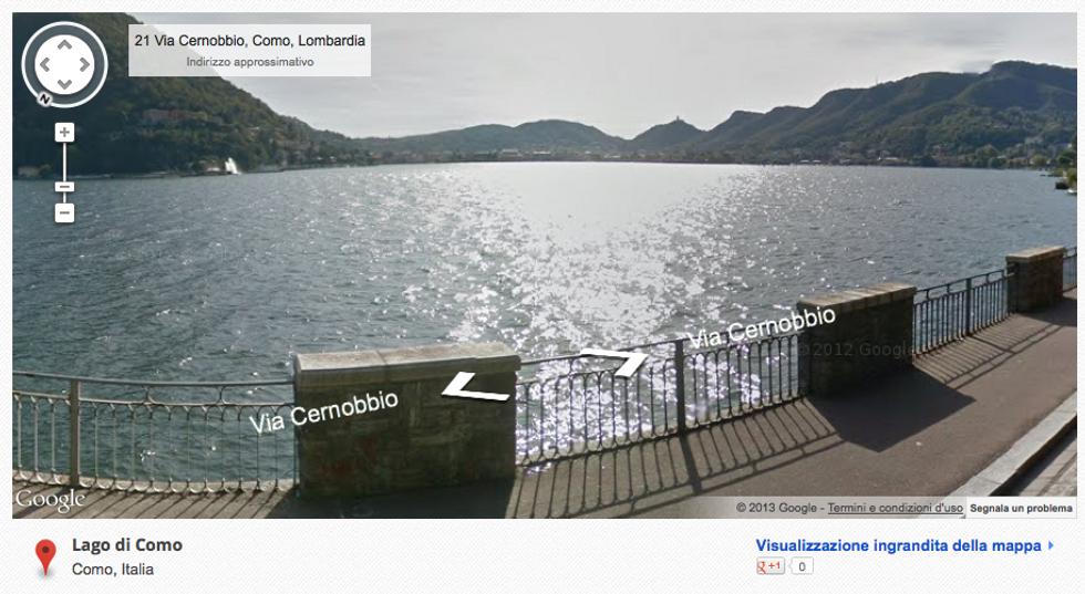 Google Street View: le bellezze d'Italia