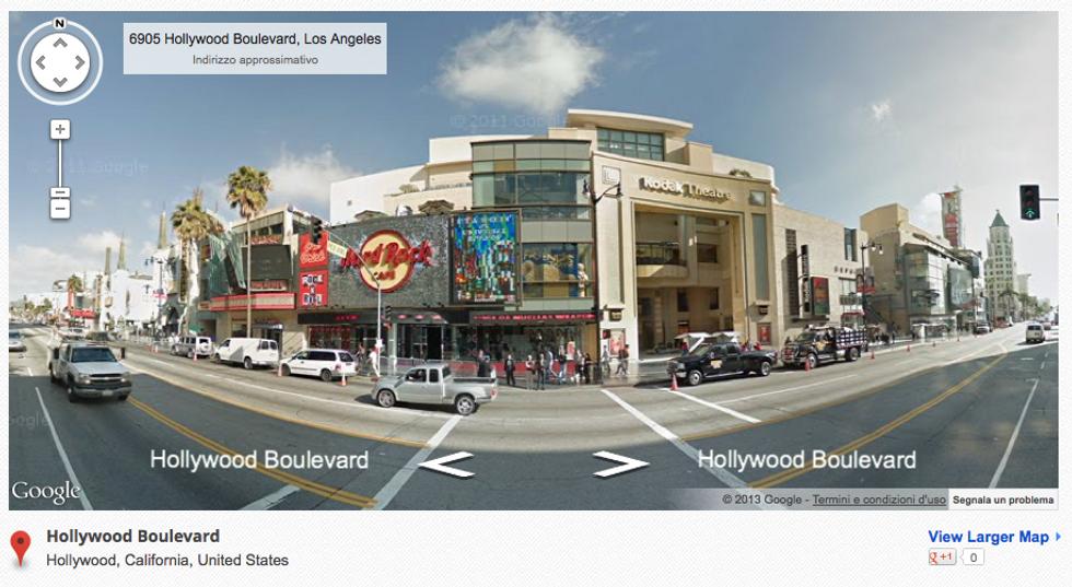 Google Street View: sulle strade d'America