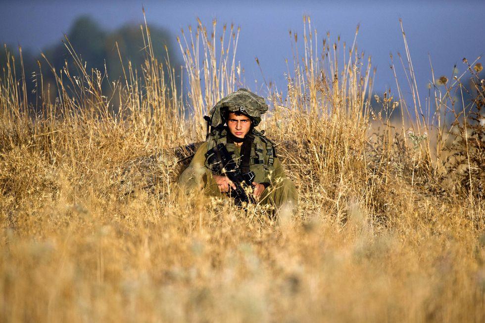 Le esercitazioni militari di Israele sulle Alture del Golan