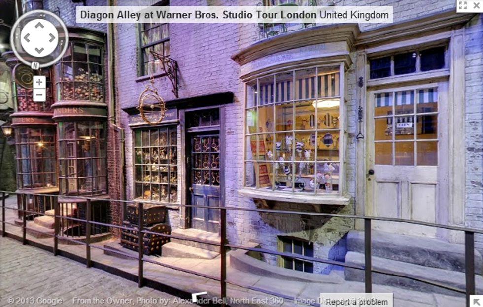 Google street view: la strada di Harry Potter