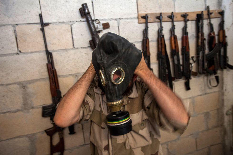 Guerra in Siria, foto di vita quotidiana - Luglio 2013