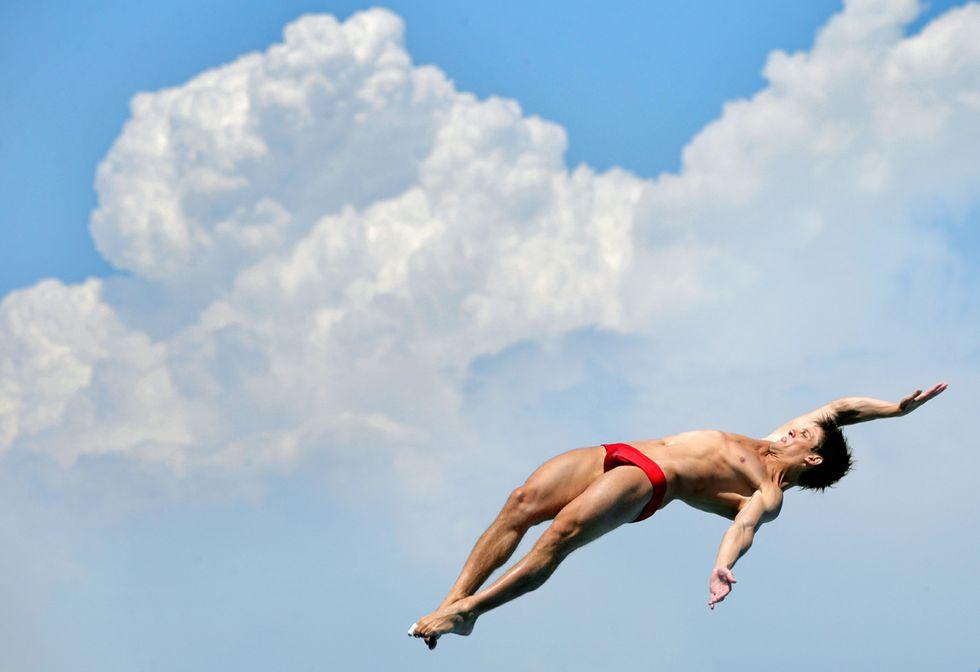 Le foto più belle dei Mondiali di nuoto di Barcellona