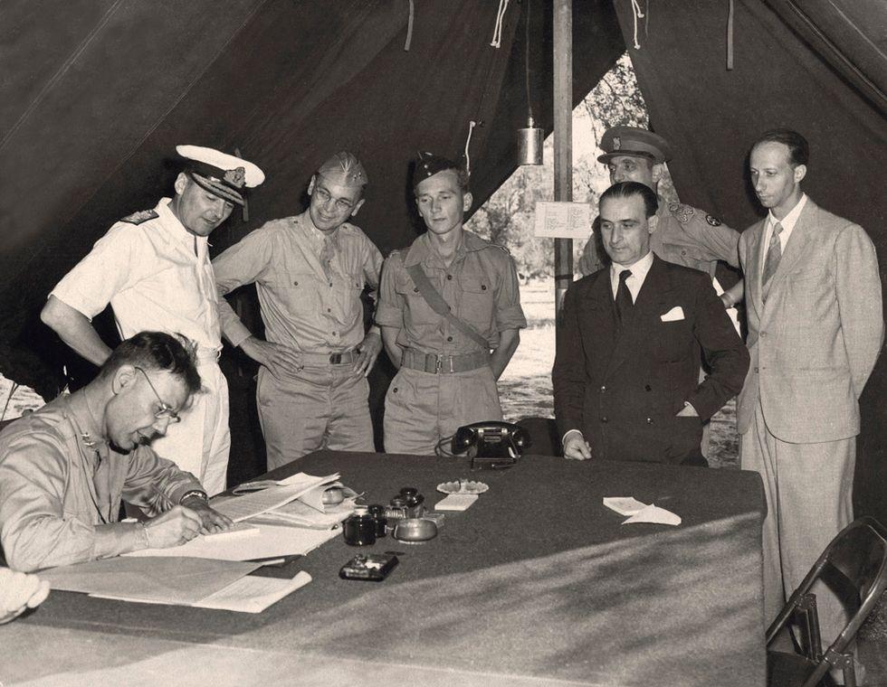 8 settembre 1943: 70 anni fa l'armistizio