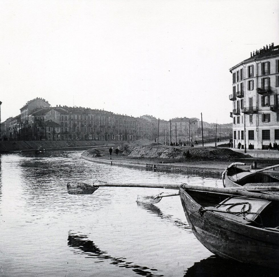 Milano tra le due guerre: le vie d'acqua