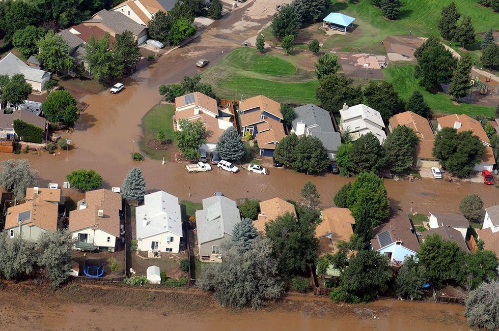 """Le alluvioni """"bibliche"""" in Colorado"""