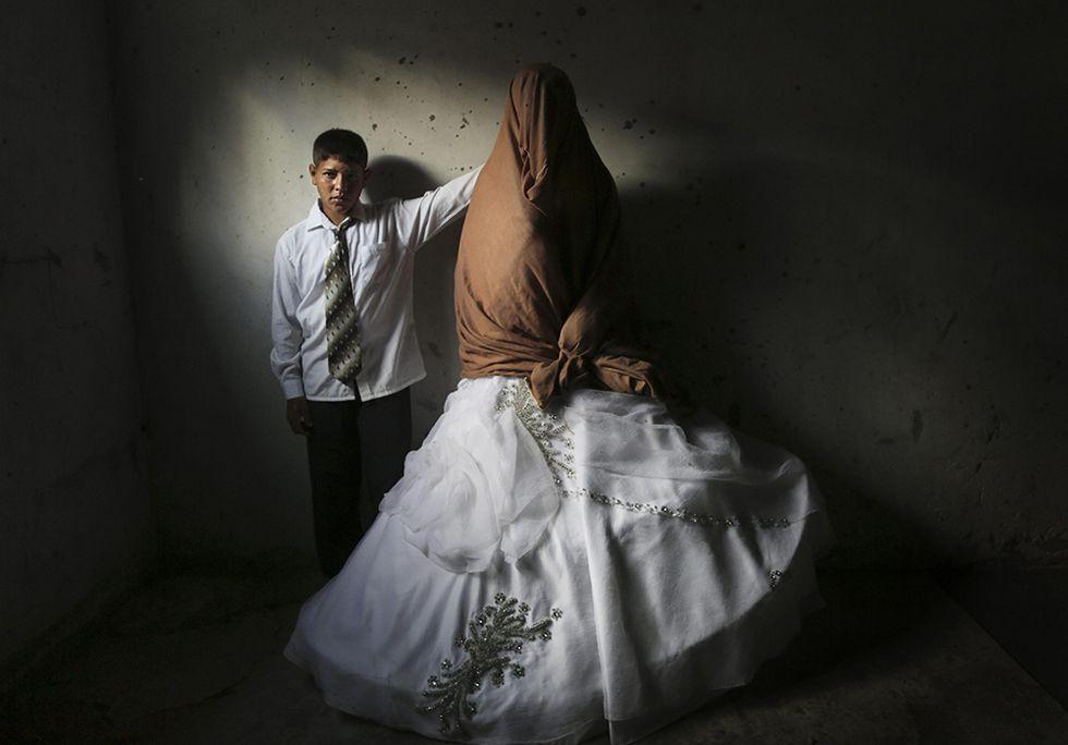 Ahmed e Tala, sposi ragazzi a Gaza