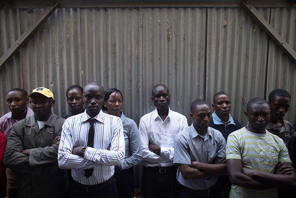Lutto nazionale in Kenya e altre foto del giorno, 26.9.2013